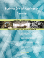 Business-Critical Application Security Standard Requirements