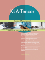 KLA-Tencor Standard Requirements