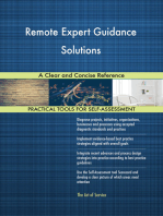 Remote Expert Guidance Solutions A Clear and Concise Reference