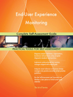 End-User Experience Monitoring Complete Self-Assessment Guide