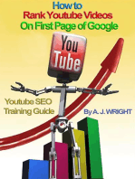 How to Rank Youtube Videos On First Page of Google - SEO Training Guide
