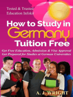 How to Study in Germany Tuition Free - Get Free Education, Admission & Visa Approval, Get Prepared for Studies at German Universities