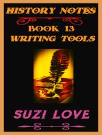 Writing Tools History Notes Book 13