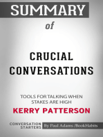 Summary of Crucial Conversations