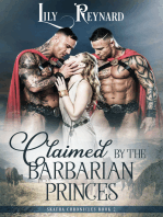 Claimed by the Barbarian Princes (Skatha Chronicles, Book 2)