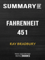 Summary of Fahrenheit 451 by Ray Bradbury | Trivia/Quiz for Fans