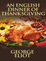 An English Dinner of Thanksgiving
