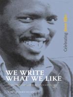 We Write What We Like