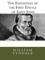 The Exposition of the First Epistle of Saint John