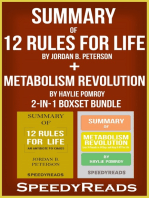 Summary of 12 Rules for Life