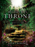 Before His Throne (Repackaged)
