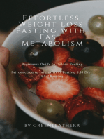 Effortless Weight Loss Fasting With Fast Metabolism