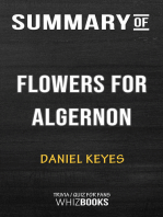 Summary of Flowers for Algernon by Daniel Keyes | Trivia/Quiz for Fans