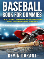 Baseball Book For Dummies:learn how to play baseball in 90 minutes and coaching like a champion!