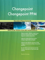 Changepoint Changepoint PPM Standard Requirements