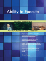 Ability to Execute Standard Requirements