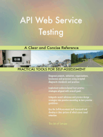 API Web Service Testing A Clear and Concise Reference
