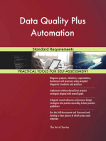 Data Quality Plus Automation Standard Requirements
