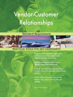Vendor-Customer Relationships Standard Requirements