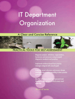 IT Department Organization A Clear and Concise Reference