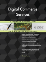 Digital Commerce Services Complete Self-Assessment Guide