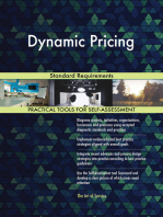 Dynamic Pricing Standard Requirements