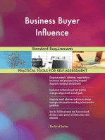 Business Buyer Influence Standard Requirements