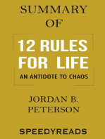 Summary of 12 Rules for Life: An Antidote to Chaos