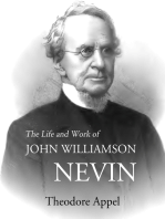 The Life and Work of John Williamson Nevin