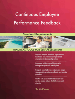 Continuous Employee Performance Feedback Standard Requirements