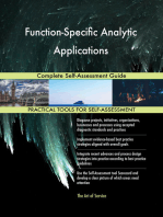 Function-Specific Analytic Applications Complete Self-Assessment Guide