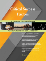 Critical Success Factors A Clear and Concise Reference