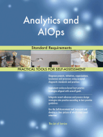 Analytics and AIOps Standard Requirements