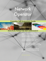 Network Operator Complete Self-Assessment Guide