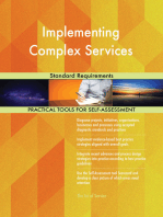 Implementing Complex Services Standard Requirements