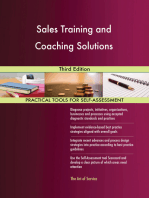Sales Training and Coaching Solutions Third Edition