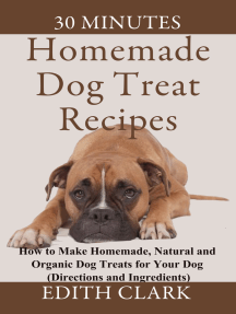 Homemade Dog Treat Recipes: How to Make Homemade, Organic and Natural Dog Treats for Your Dog
