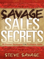 Savage Sales Secrets