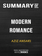 Summary of Modern Romance by Aziz Ansari | Trivia/Quiz for Fans
