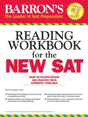 Barron's Reading Workbook for the NEW SAT by Brian W  Stewart - Read Online