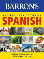 Barron's Visual Dictionary: Spanish: For Home, Business, and Travel