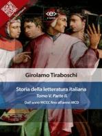 Storia della letteratura italiana del cav. Abate Girolamo Tiraboschi – Tomo 5. – Parte 2