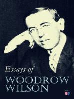 Essays of Woodrow Wilson