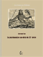 La psychanalyse au-delà du XXe siècle