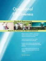 Operational Effectiveness Standard Requirements