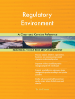 Regulatory Environment A Clear and Concise Reference