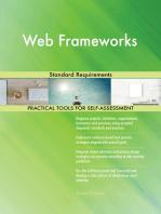 Web Frameworks Standard Requirements