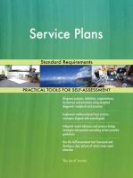 Service Plans Standard Requirements