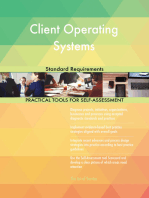 Client Operating Systems Standard Requirements