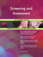 Screening and Assessment A Complete Guide